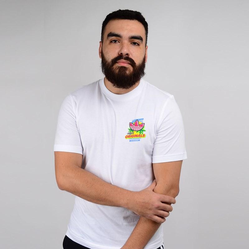 Camiseta Adidas Masculina Bodega Popsicle Branco ED7062