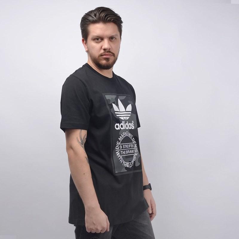 Camiseta Adidas Masculina Camo Tee Multicolor ED6965