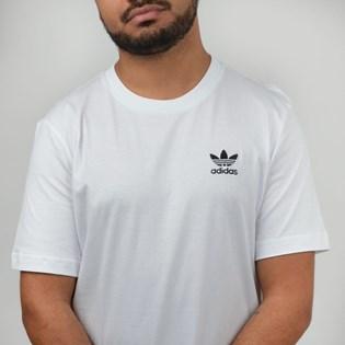 Camiseta Adidas Masculina Essential Branco DV1576