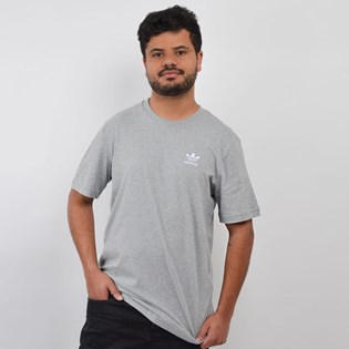 Camiseta Adidas Masculina Essential Cinza DV1641