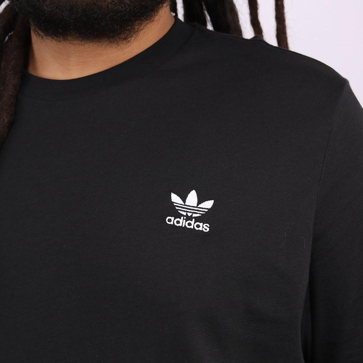 Camiseta Adidas Masculina Essential Tee Black FM9969