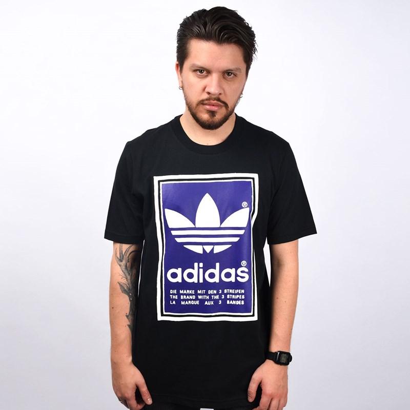 Camiseta Adidas Masculina Filled Label Preto ED6936