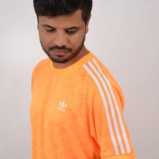 Camiseta Adidas Masculina Mono Jersey Laranja ED7040