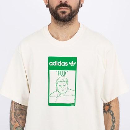 Camiseta adidas Originals Hulk Off White GP3398