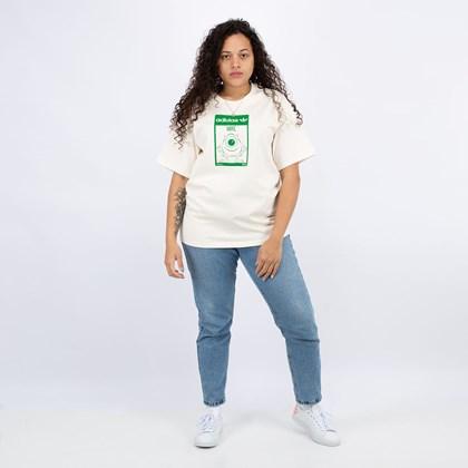 Camiseta adidas Originals Mike Wazowski Off White GP3393