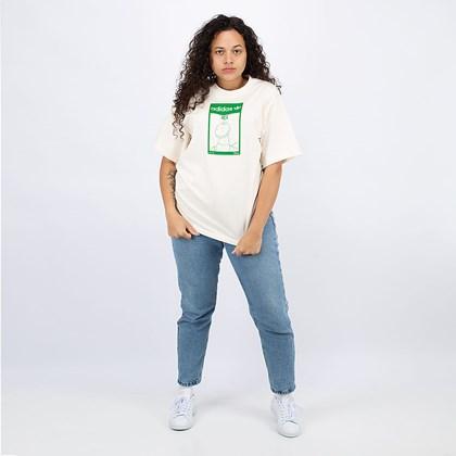Camiseta adidas Originals Rex Off White GP3396