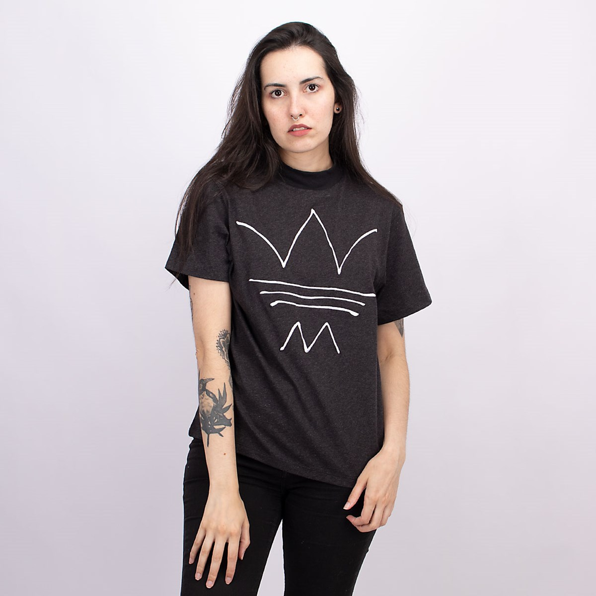 Camiseta adidas R.Y.V. Black Melange GN4338