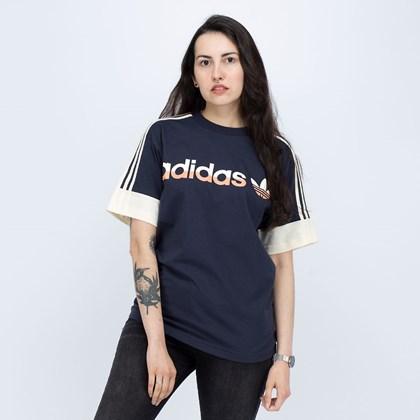 Camiseta Adidas Split Sprt 3 Stripes Legend Ink Cream White H31275
