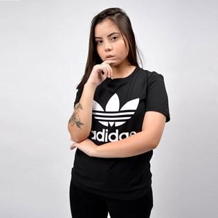 Camiseta Adidas Trefoil Tee Black White FM3311