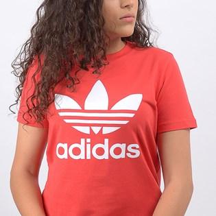 Camiseta Adidas Trefoil Tee Lush Red FM3302