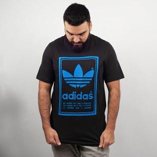 Camiseta Adidas Vintage Preto Azul ED6918