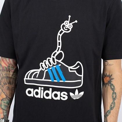 Camiseta adidas Worm Shoe Black GN2154