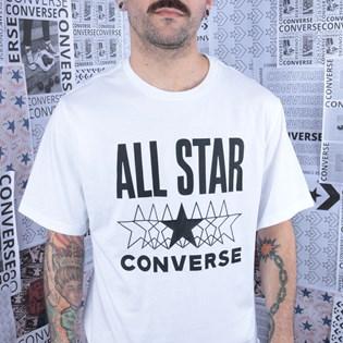 Camiseta Converse All Star SS Tee White 10018373-A01