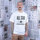 Camiseta Converse All Star SS Tee White 10018373-A01