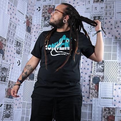 Camiseta Converse Art Tee 3 Black 10018553-A01