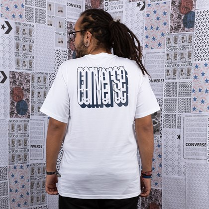 Camiseta Converse Autotracking SS White 10019931-A01