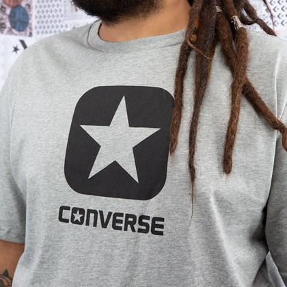 Camiseta Converse Box Star SS Gray Vgh 10019936-A03