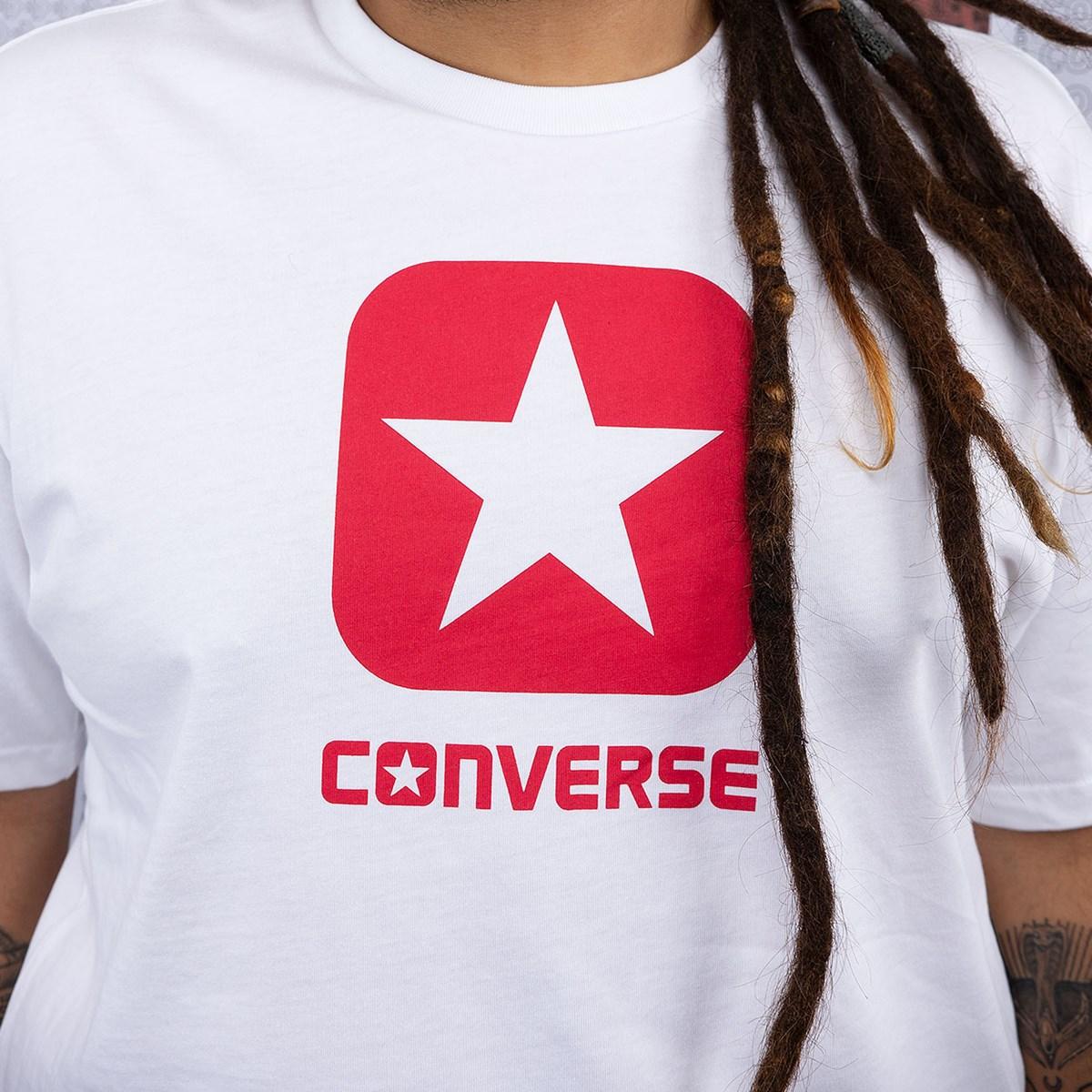 Camiseta Converse Box Star SS White 10019936-A01