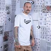 Camiseta Converse Center Front Logo Tee White 10018235-A02