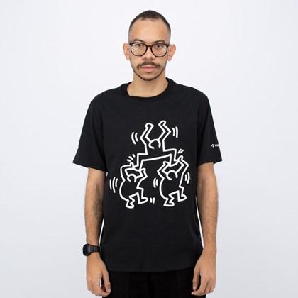 Camiseta Converse Keith Haring Graphic Black 10022254-A01