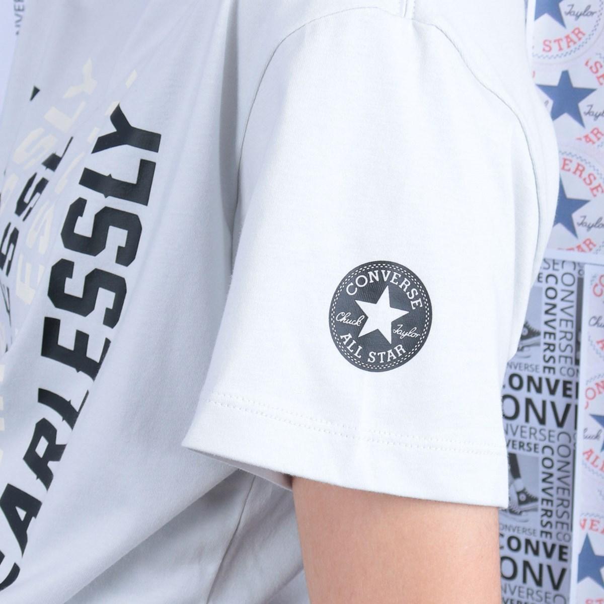 Camiseta Converse Love The Progress 2.0 Relaxed Tee Photon Dust 10019658-A03