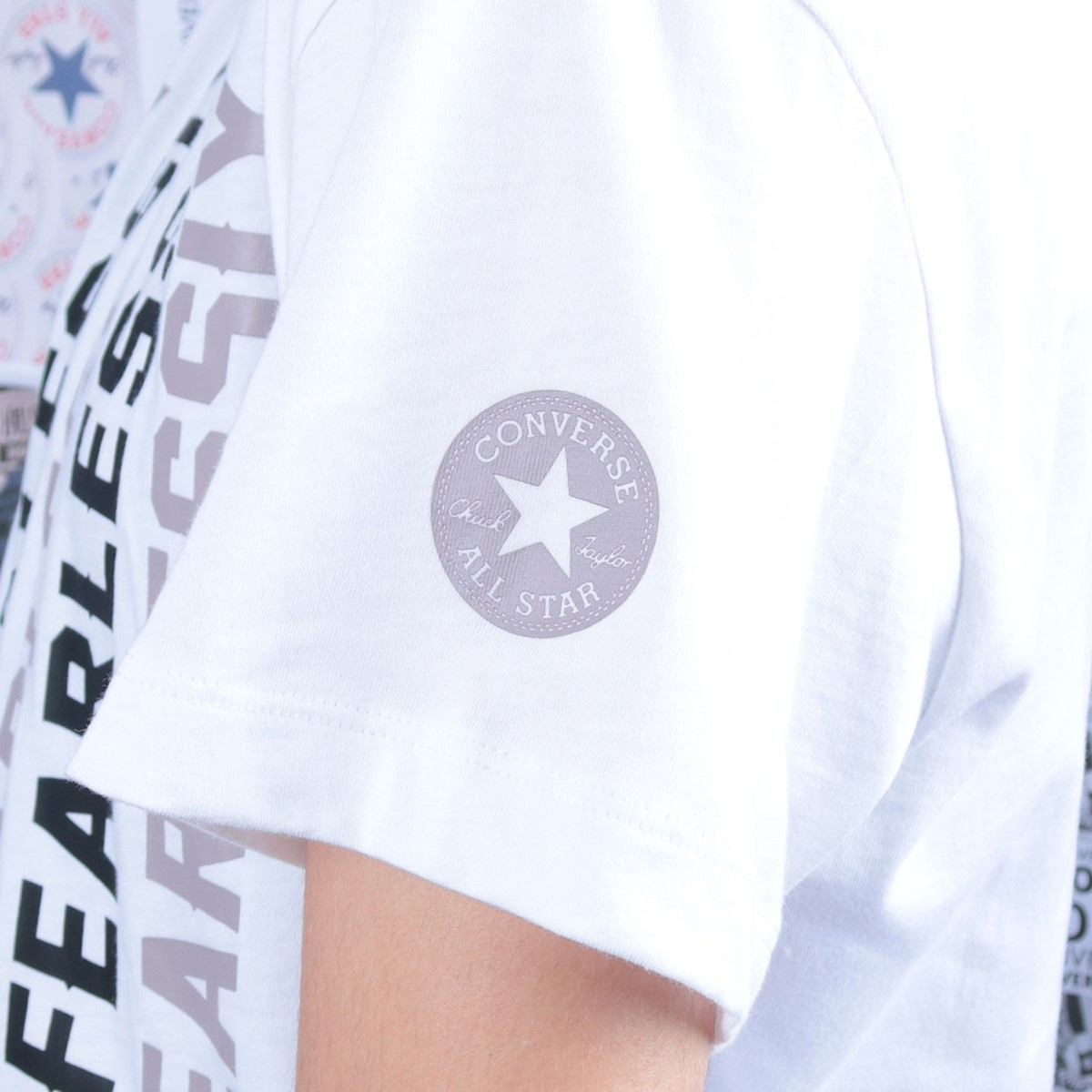 Camiseta Converse Love The Progress 2.0 Relaxed Tee White 10019658-A02