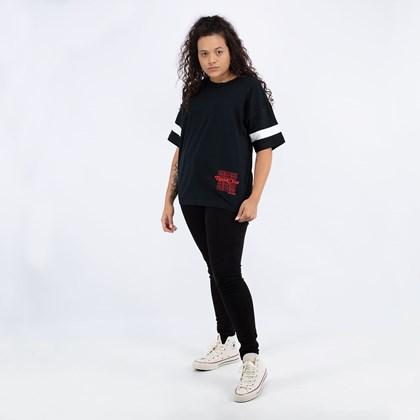 Camiseta Converse Renew Oversized Black 10018928-A01