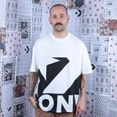 Camiseta Converse Star Chevron Icon Remix White+Black 10018381-A01