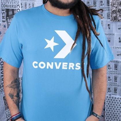 Camiseta Converse Star Chevron Tee Coast 10018568-A10