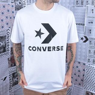 Camiseta Converse Star Chevron Tee White 10018568-A02
