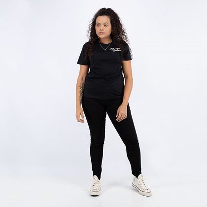 Camiseta Converse Stronger Together Relaxed Black 10019569-A02