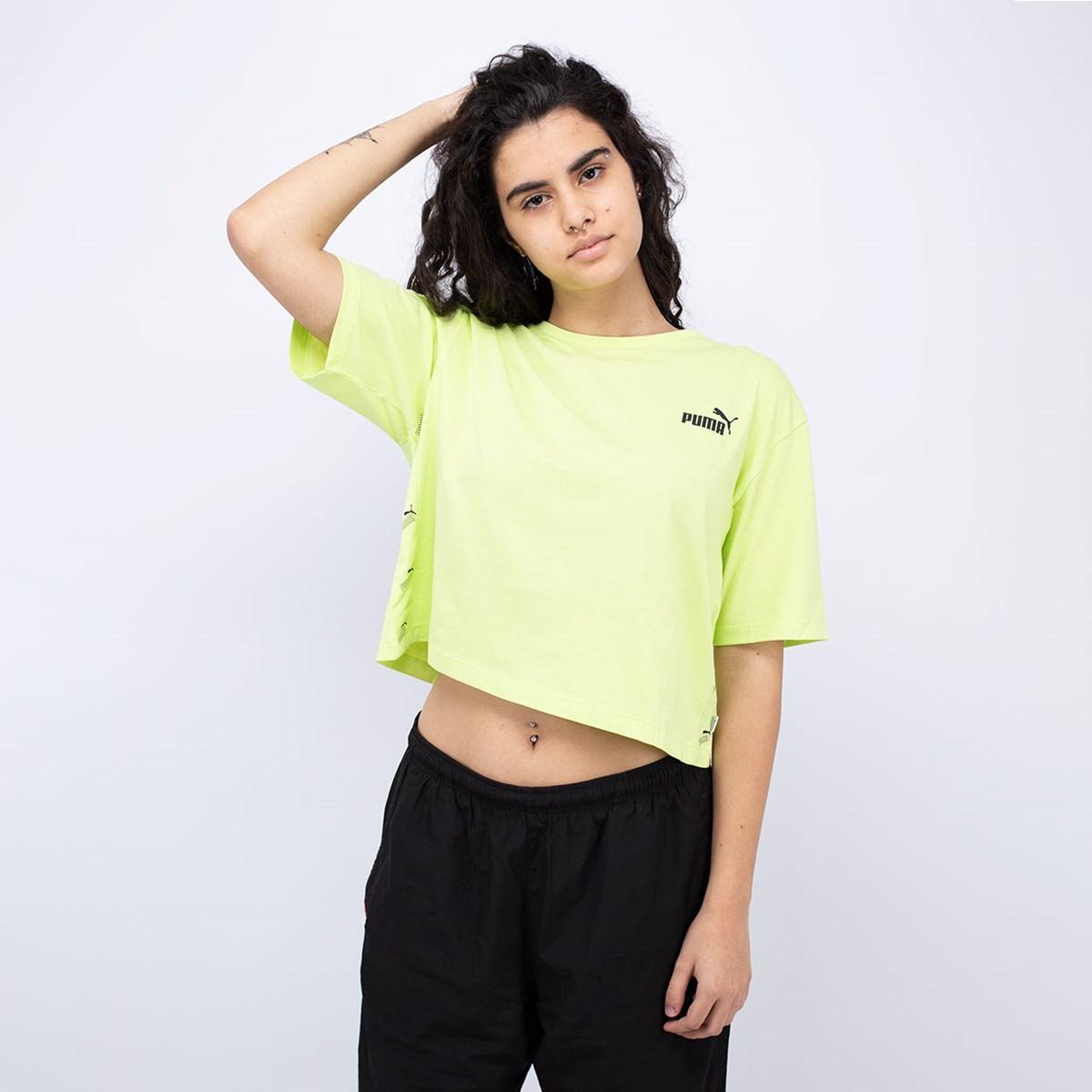 Camiseta Puma Amplified Sharp Green 583609-34