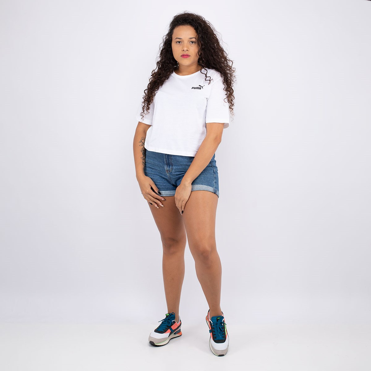 Camiseta Puma Amplified White 583609-02