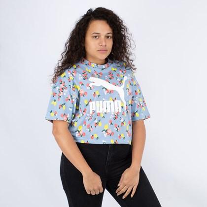 Camiseta Puma CG Boyfriend Tee Forever Blue 599619-19