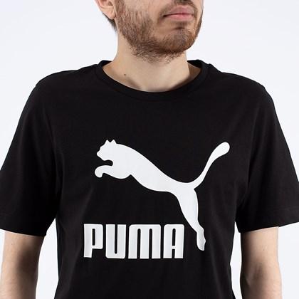 Camiseta Puma Clasics Logo Tee Black 530088-01