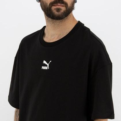Camiseta Puma Classics Boxy Tee Black 532135-01