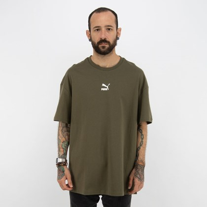 Camiseta Puma Classics Boxy Tee Grape Leaf 532135-44