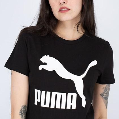 Camiseta Puma Classics Logo Tee Black 530076-01