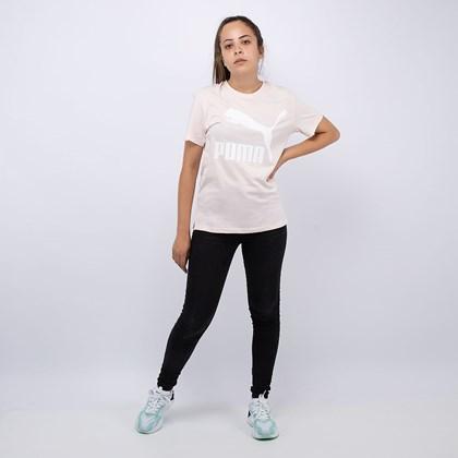 Camiseta Puma Classics Logo Tee Pink 59551417
