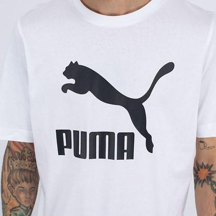 Camiseta Puma Classics Logo Tee White 530088-02