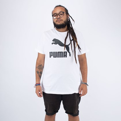 Camiseta Puma Classics Logo White 597740-02