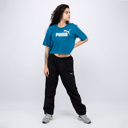Camiseta Puma Cropped Essentials+ Digitalblue 852594-36
