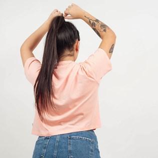 Camiseta Puma Feminina Cropped ESS Logo Tee Rosa 85259419