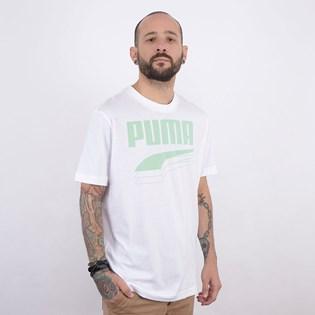 Camiseta Puma Feminina Rebel Bold Tee White Mist Green 58135662