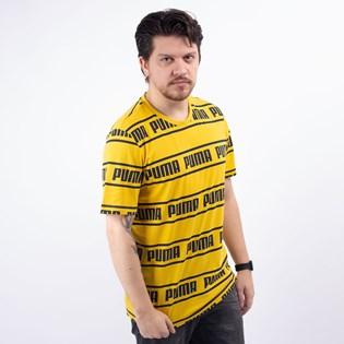 Camiseta Puma Masculina Amplified Tee Sulphur 58042720