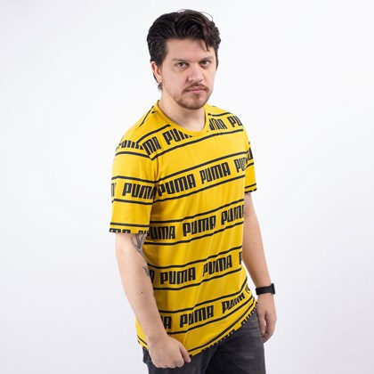 Camiseta Puma Masculina Amplified Tee Sulphur 58042720