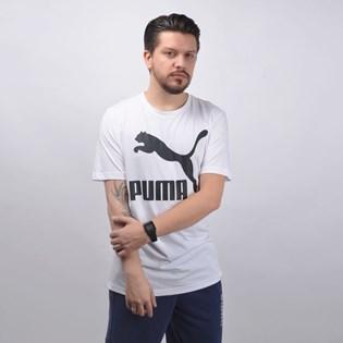 Camiseta Puma Masculina Classics Logo Tee Branco 59513202