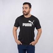 Camiseta Puma Masculina ESS Logo Tee Black 85174001
