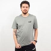 Camiseta Puma Masculina Essentials Tee Cinza 85174103