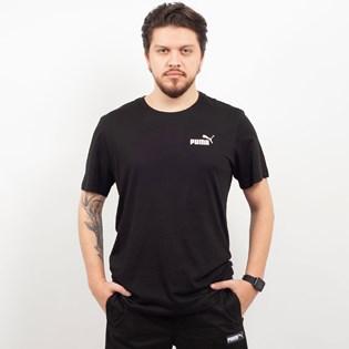 Camiseta Puma Masculina Essentials Tee Preto 85174101